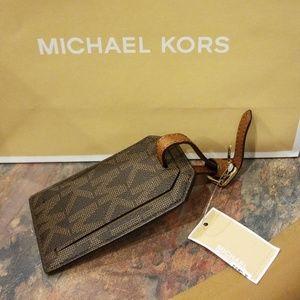 FINAL SALE:Michael Kors Jet Set Travel Luggage Tag